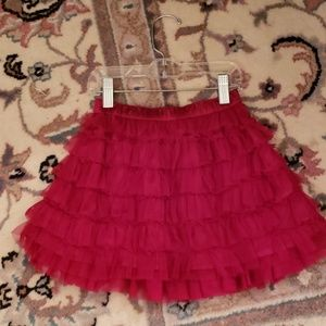 NWOT Sweet layered tulle skirt by GAP
